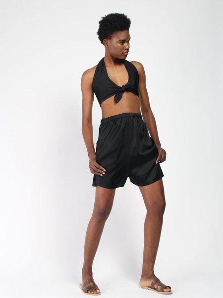 Paper London Fiji Bikini Top - Black