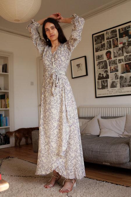 Natalie Martin Danika Dress - Orchid Print