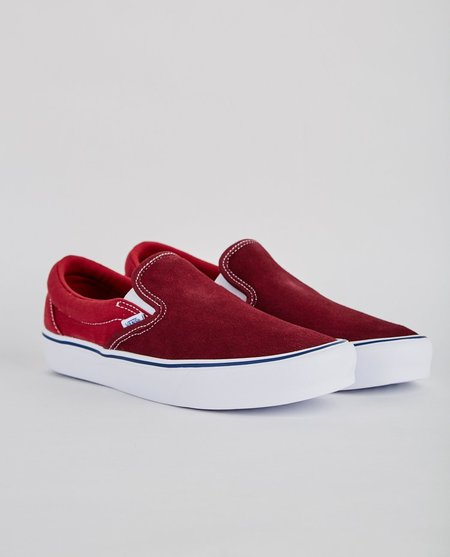 VANS SLIP-ON LITE THROWBACK SLIP ON - PORT ROYALE/TIBETAN RED