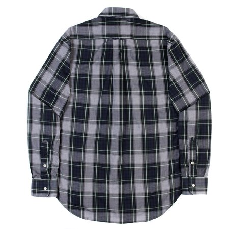 Gitman Vintage Long Sleeve Shirt - Blackwatch Grid