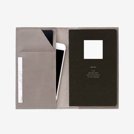 This Is Ground Medium Notebook Holder - French Grey