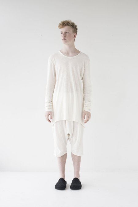 Lela Jacobs Keepers L/S Tee - Natural