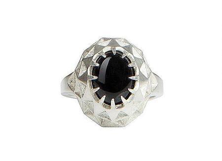 Holly Howe Star Gazer Ring - Onyx