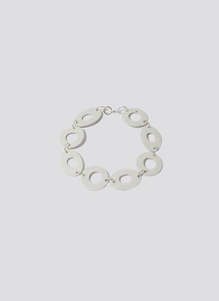 Levéns Jewels O Necklace - White Porcelain