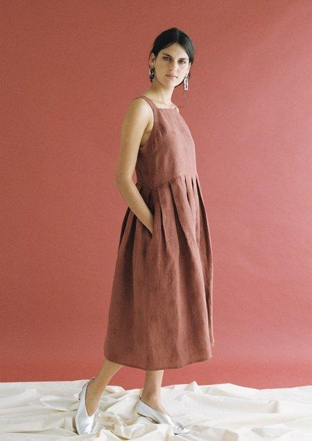 hej hej Platts Dress - Pleats