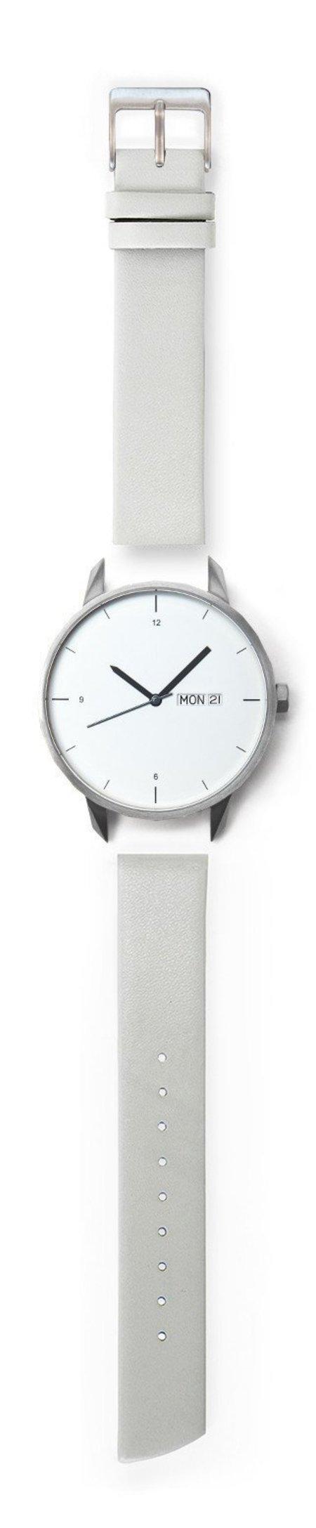 Unisex Tinker Watches Standard Strap 42mm Watch - Silver/Grey