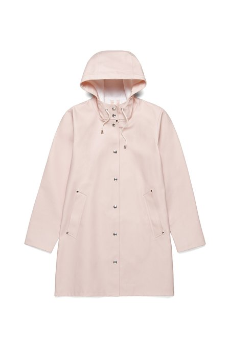 Stutterheim Mosebacke Rain Jacket - Pale Pink