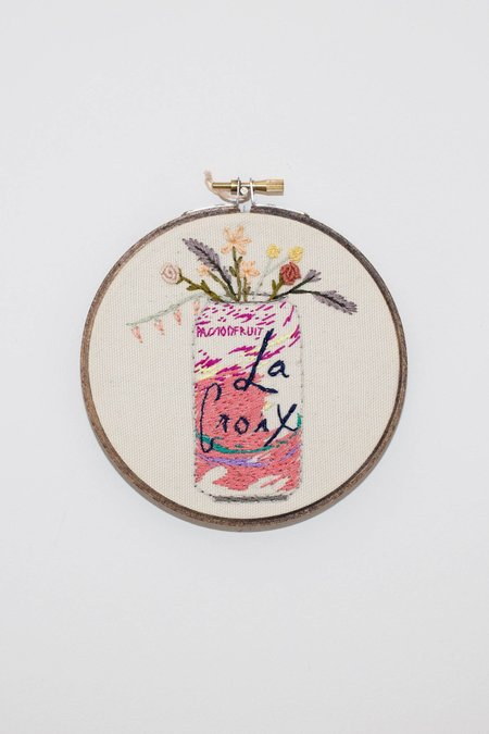 Koe-Zee Passionfruit La Croix Cross Stitch