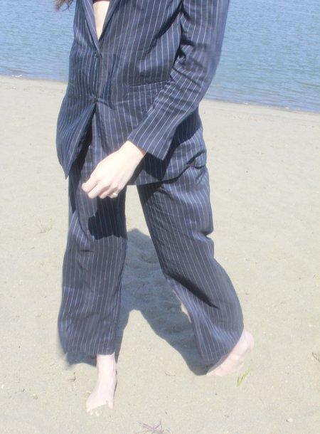 Shaina Mote Harlo Pinstripe Trouser - navy