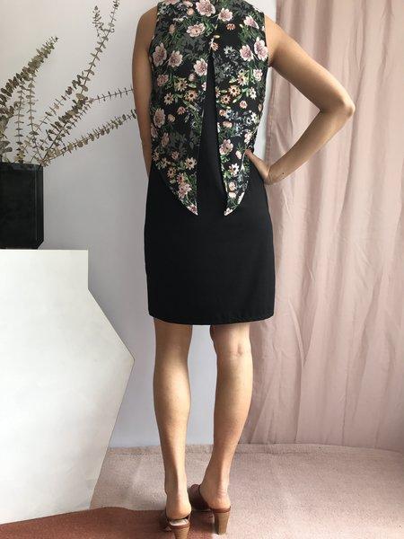 Cherry Bobin Robe Hirondelle - Fleuri Noir
