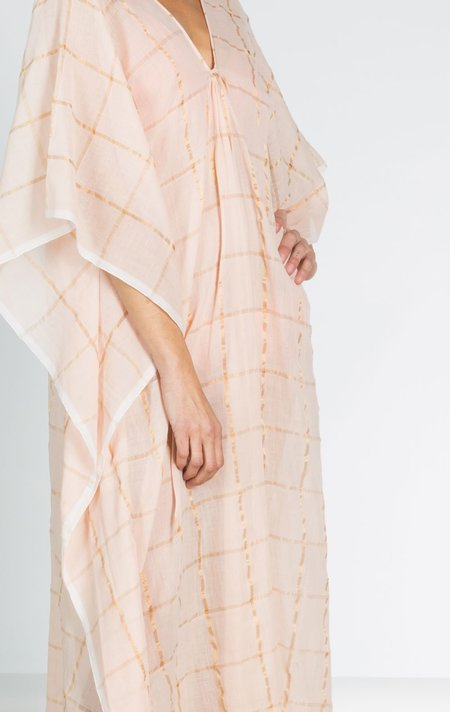 Two Caftan - Pale Pink/Gold