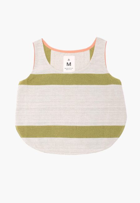 New Market Goods Light Khala Tank - Stripes