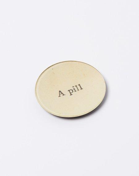 """John Derian 4""""  Round A Pill"""