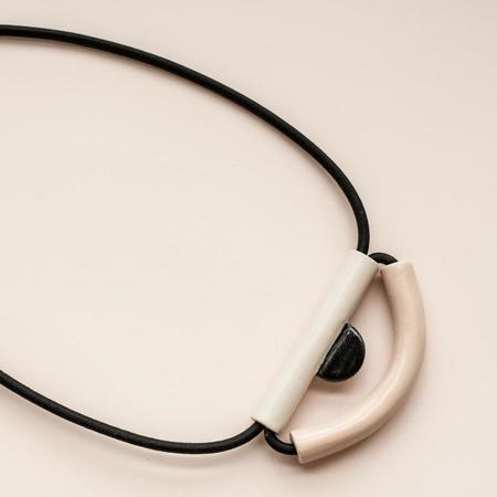 YYY Eye Necklace - Peach