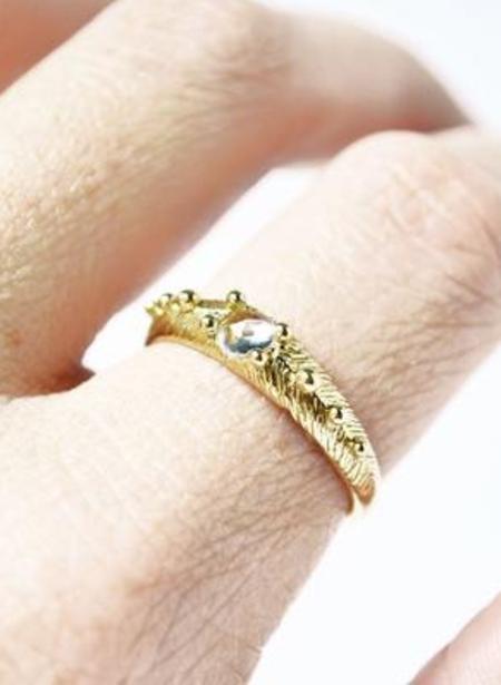 Stefanie Sheehan Gleaming Ring - White Topaz