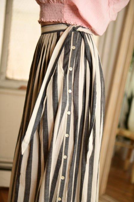 Anaak Stripe Devika Skirt - Stripe