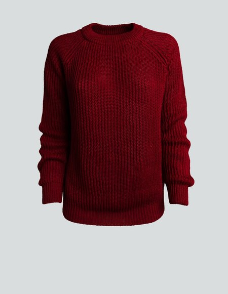 Asciari Milano Nemo Rosso Sweater