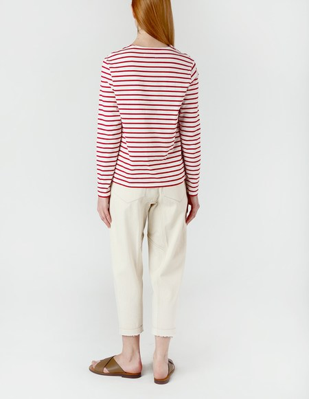 Laquintane Sailor Red Stripped T-Shirt