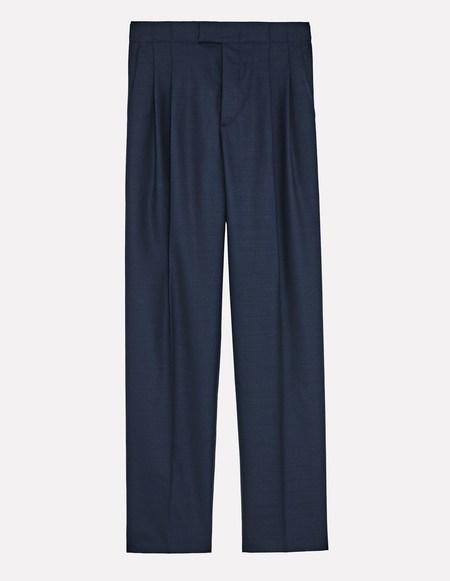 Laquintane High Waisted Pants - Navy