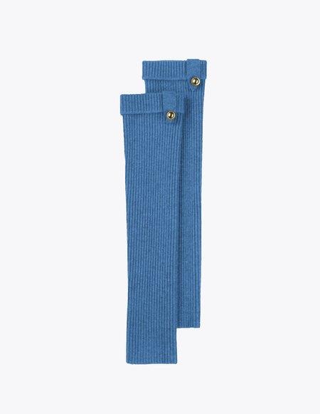 Bonnie's Long Eco-friendly Cashmere Arm Warmers - Blue