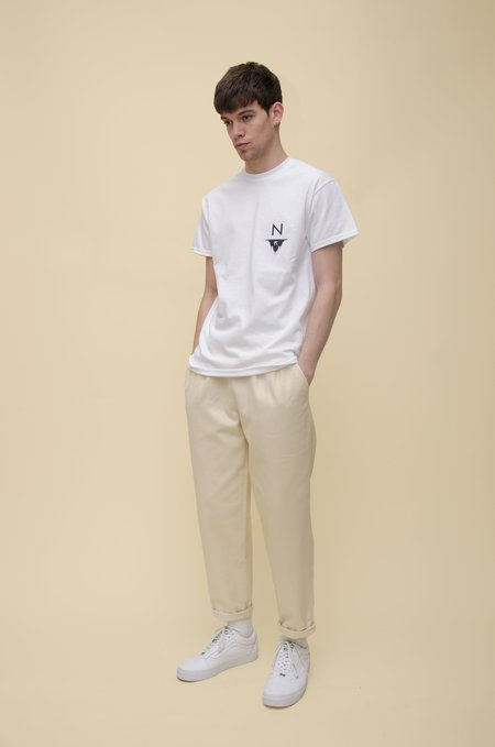 North Hill Marabout Tee - White