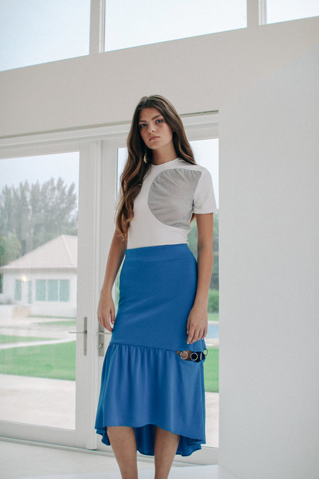 Dama Aleka Skirt - Blue/White