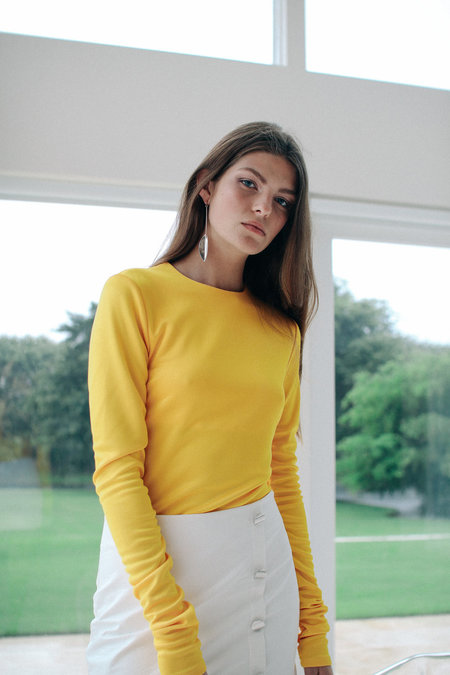 DAMA Ekkara Top - Yellow