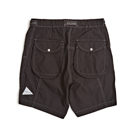 and wander Dry Rip Short Pant - Black