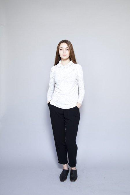 Dagg & Stacey – Nima Turtleneck Ivory Fleck
