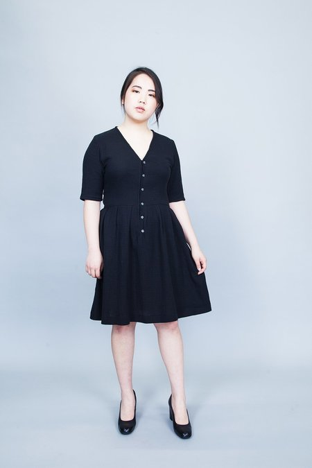 Dagg & Stacey Griffith Dress - NAVY