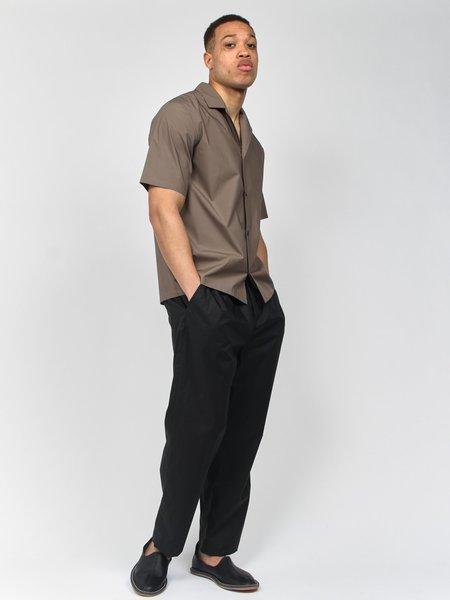 Deveaux Resort Short Sleeve Shirt - Olive Grey
