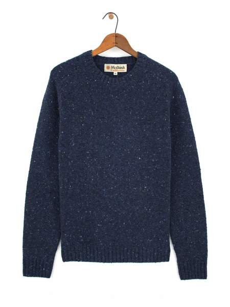 Mollusk Cambridge Sweater - Atlantic Blue