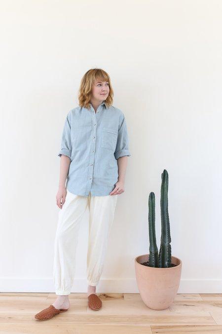 Mollusk Maggie Shirt - Blue Mist