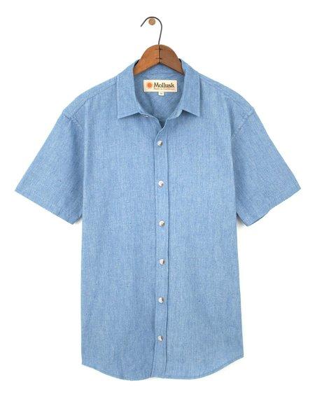Mollusk Summer Shirt - Indigo Cosmos