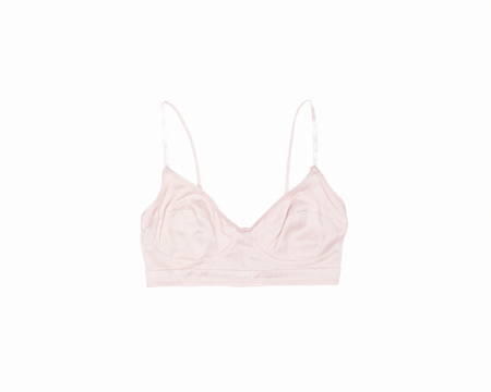 BOOM Organic Silk Soft Bra - Winter Blush
