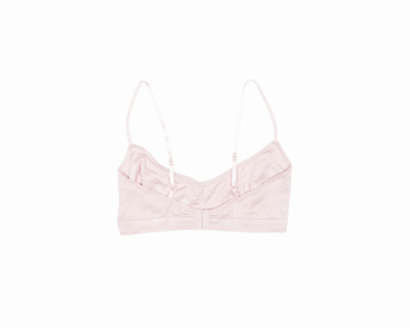 POP Organic Silk Soft Bra - Winter Blush