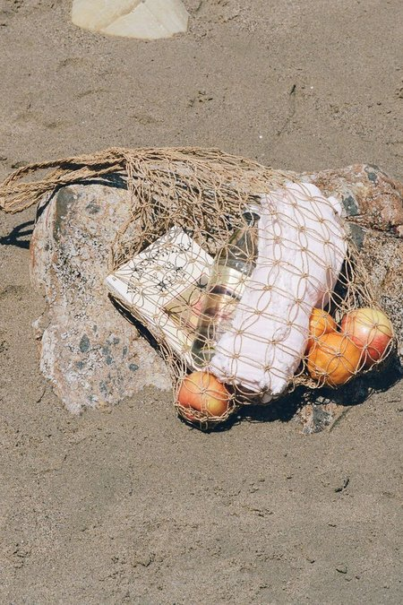 Lacausa Looped Weave Market Bag - Natural