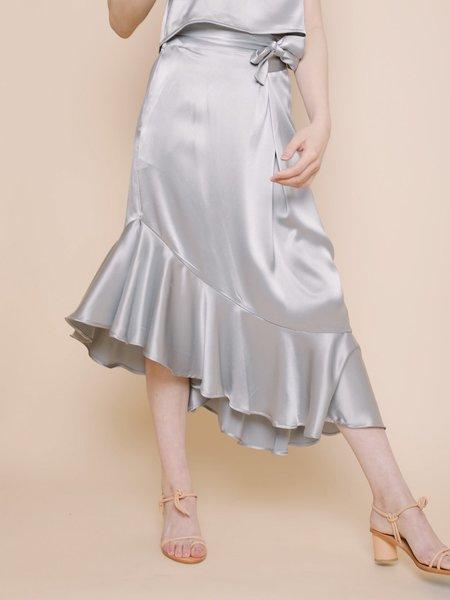 Ajaie Alaie Flamenca Skirt - Metal