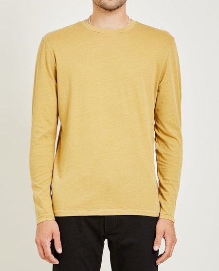 321 CREW NECK LONG SLEEVE TEE - LIGHT BURNT ORANGE