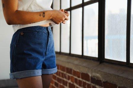 Carleen Shorts - Blue