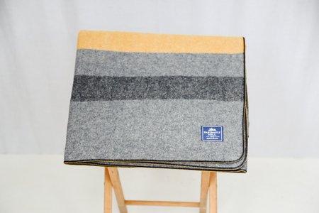 Faribault Foot Soldier Blanket - Gray Stripe