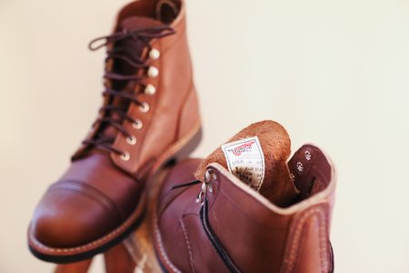 Red Wing Heritage Iron Ranger Boots - Amber Harness