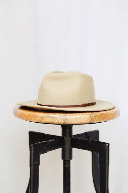 Unisex Yellow 108 Eastwood Hat - Putty