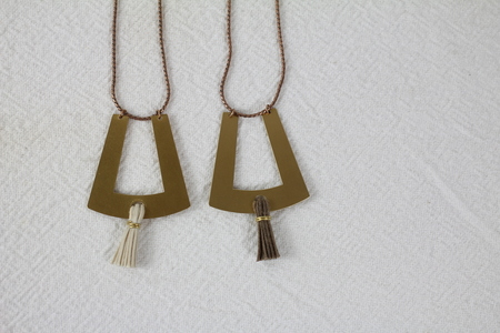 SEAWORTHY Bixa Tassel Necklace
