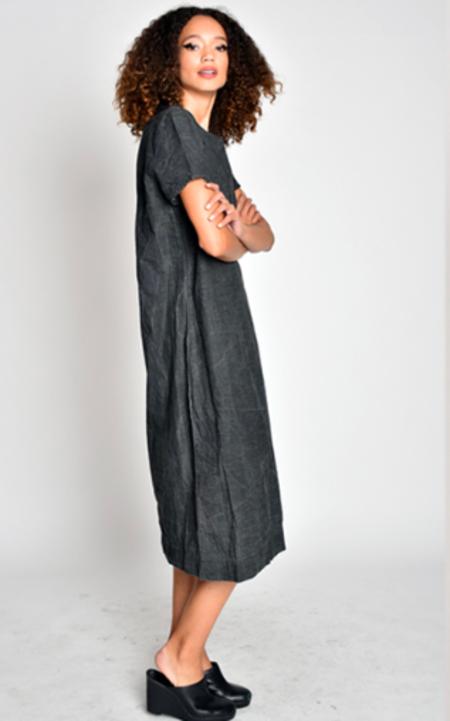 Uzi NYC Tee Dress - Black