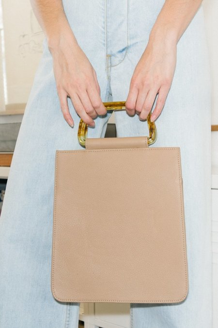 Clyde Rectangle Bag - Taupe