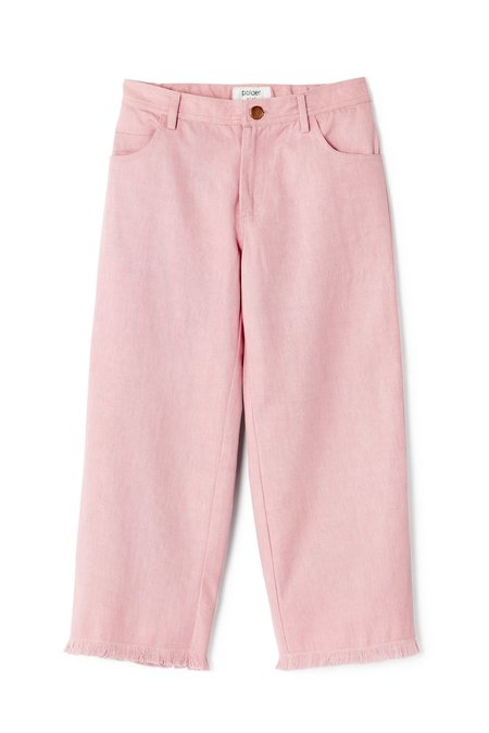 Kids Polder Girl Diego Trousers - Light Pink