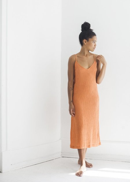 Lacausa Spice Slip Dress - Cayenne