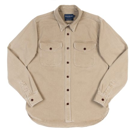 Freenote Cloth Utility Shirt - Khaki