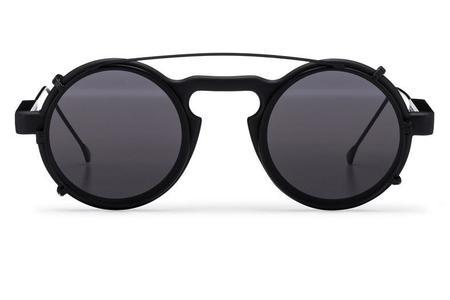 Spitfire Aurora Clip Sunglasses - Black/Black